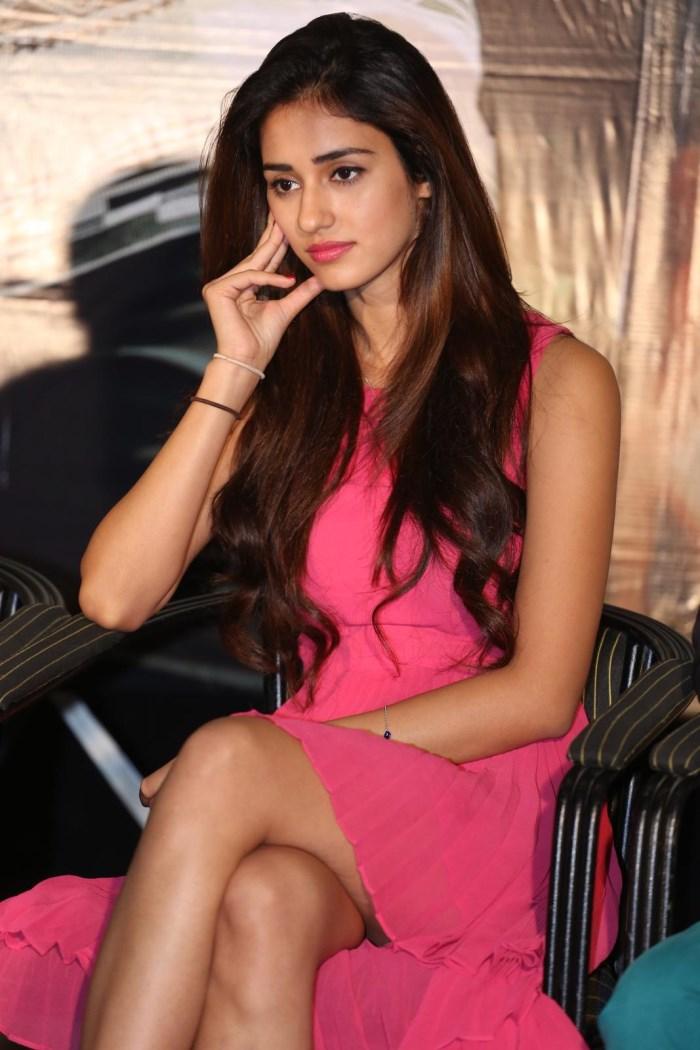 Actress Disha Patani @ Loafer Movie Success Meet