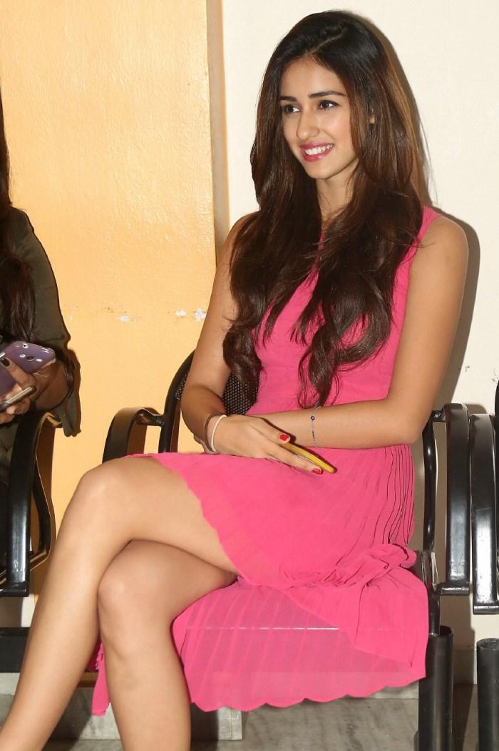 Actress Disha Patani Stills @ Loafer Success Meet