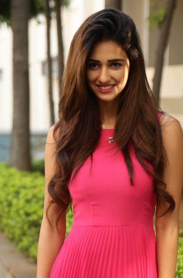 Telugu Actress Disha Patani @ Loafer Movie Success Meet